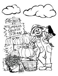 seasons coloring pages for fall season printable four