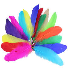 Materials For A Dream Catcher 100pcs Fluffy cheap feathers Dream catcher diy crafts materials 74