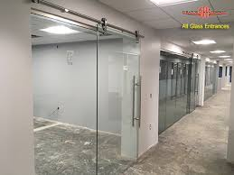 all glass entrances