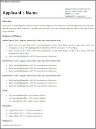 Resume Free Magnificent Creating A Resume Template In Word Free Create A Resumes Creating