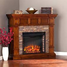 faux stone electric fireplace electric fireplace
