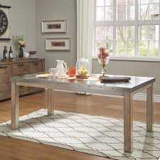 View In Gallery Dining Room Table With A Stainless Steel Top Stainless Steel Top Dining Table