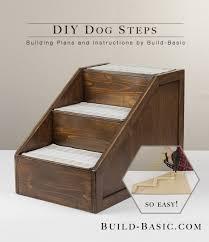 build diy dog steps building plans by buildbasic build basic