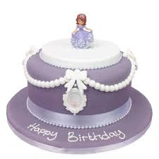 Princess Sofia Cake Girls Birthday Cakes The Cake Store