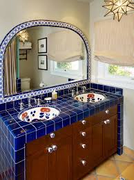 Mexican Tile Kitchen Mexican Tile Bathroom Designs Houseofflowersus