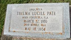 Thelma Lucile Pate (1910-1934) - Find A Grave Memorial