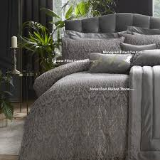 masque slate luxury duvet cover sets by llb