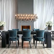 chandeliers clarissa glass drop extra long rectangular chandelier clarissa glass drop rectangular chandelier installation elegant