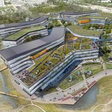 google california office. Plain California NBBJ Designs Googleu0027s New Office Complex In California And Google Office N