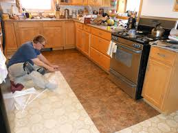 Small Picture Kitchen Flooring Installation Home Design Ideas