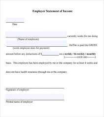 proof of ine form letter self employment sle template academic resume strong