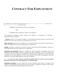 Hr Contract Templates New Example Employment Contract Invitation Templates Employment