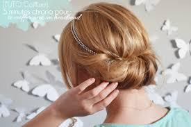 Photo Coiffure Headband Cheveux Mi Long Mariage Coupe De