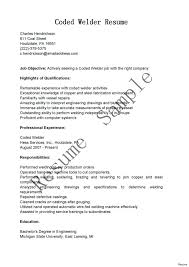 Welding Resume Examples Extraordinary Resume Welders Helper Welder Sample To Welding Resumes Examples