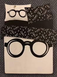 harry potter bedding glasses double duvet cover set primark