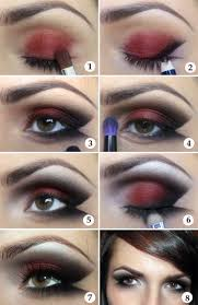 makeup tutorial lady v black red prom vanpire makeup makeup tips goth eye