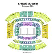 Browns Seating Chart Firstenergy Stadium Seating Chart Views And Reviews