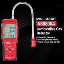 SMART SENSOR <b>AS8800A Combustible Natural</b> Gas Detector ...
