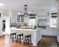 rustic white country kitchens. Rustic White Country Kitchen Kitchens Wooden Cabi Table And Two Tone Island
