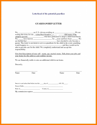 Notarized Letter Of Guardianship Guardianship Letter Free Letter Templates