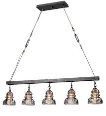 troy lighting f3138 old silver menlo park 5 light linear chandelier