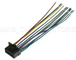 sony wiring harness wire harness pin soh copper cdx gt cdx wire harness for sony mexn5000bt mex n5000bt pays today ships today