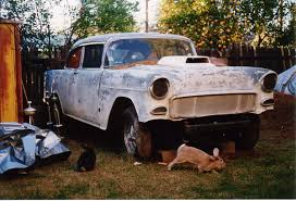 Projects - Project 55' Chevy B Coupe Gasser | The H.A.M.B.