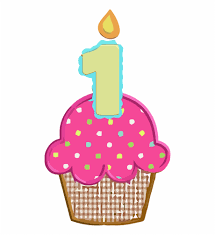 1st Birthday Cupcake Clipart Picture 1st Birthday Cupcake Clipart