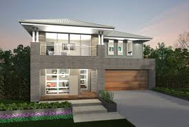 image of 2 story house plans with master on second floor with loft