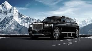 Custom Rolls Royce Cullinan By Klassen Mens Gear