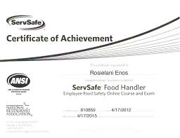 Luxury Pictures Of Food Handlers Certification Texas Business