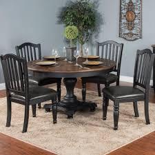 Sunny Designs Bourbon Trail 5 Piece Round Table Chair Set John V