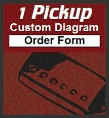 1 pickup custom designed guitar wiring diagrams 1 pickup custom guitar wiring diagram order form
