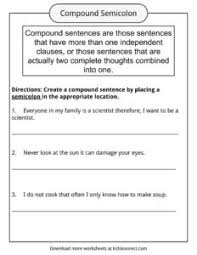 Compound Sentences Worksheets Examples Definition For Kids