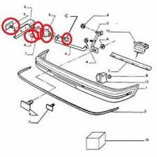 spoox motorsport peugeot 205 gti front bumper slider fitting kit