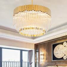 high end pendant lighting new design post modern led pendant lamps crystal gl chandeliers creative