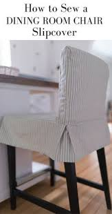 how to sew a parsons chair slipcover for the ikea henriksdal bar stool parsons chair slipcoversparson s chairsfurniture slipcoversdining room