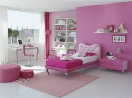 ... White and pink girls' bedroom