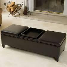 medium size of brown leather ottoman with storage brown fabric ottoman square storage ottoman with tray