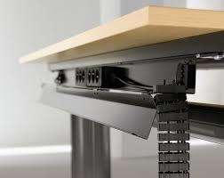 under desk cable management design
