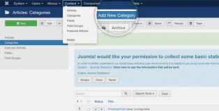 How To Create A Blog Create A Blog Site With Joomla