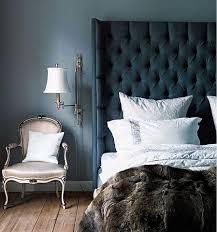 blue upholstered headboard. Simple Blue Via Intended Blue Upholstered Headboard R