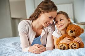awesome job ideas for teenagers southern area michigan youth a little girl spending time her mom while holding her teddy bear