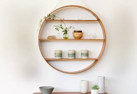 circular furniture. Fascinating Furniture For Home Interior Decoration Using Mounted Wall Circular Shelf : Handsome F