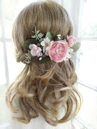 Flower Hair Style bridal hair b pink flower hair clip wedding headpiece bridal 5525 by wearticles.com