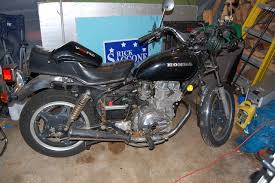 fixing up a cm400 hondamatic