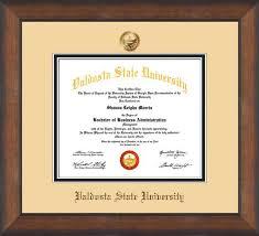 valdosta state diploma frame m bronze scoop w vsu seal off white  valdosta state diploma frame m bronze scoop w vsu seal off white black official diploma frames