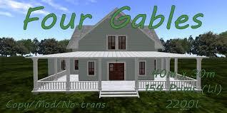 four gables house plan. Four Gables House Plan