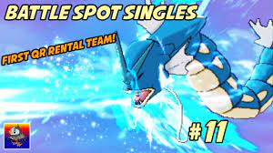 Testing Out A QR Rental Team! This is Awesome! Pokemon Sun and Moon Battle  Spot Singles #11 - YouTube