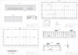 Курсовые и дипломные проекты промышленные здания скачать dwg  Курсовой проект Архитектурно курсовой проект одноэтажного промышленного здания в г
